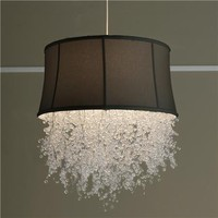 Dripping Crystal Shade Chandelier- Shades of Light