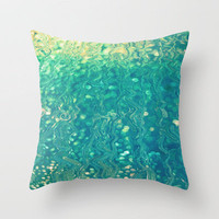 This|Must|Be|Underwater|Love Throw Pillow by Ally Coxon | Prints |iphone cases| Cards| Skins and more at Society6