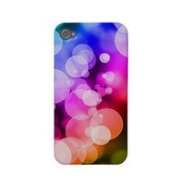 Rainbow Bubbles - iPhone 4/4S Case Iphone 4 Cases from Zazzle.com