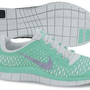 Amazon.com: Nike Lady Free 3.0 V4 Running Shoes - 9 - Green: Shoes
