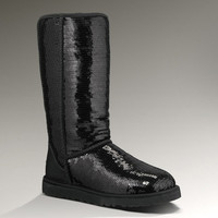 UGG® Classic Tall Sparkles for Women | Sheepskin Sparkly Boots at UGGAustralia.com