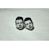Macklemore Head Studs