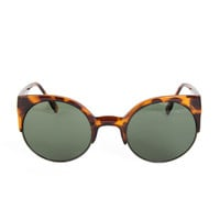 Round Cat Eye Sunglasses - 2020AVE