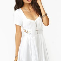 Love Drug Dress - White