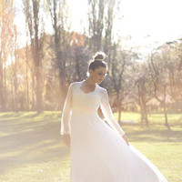 Vintage Wedding Dress by omegagloryvintage