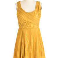 The Gift of Goldenrod Dress | Mod Retro Vintage Dresses | ModCloth.com