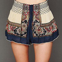 Free People Clothing Boutique > Color Between Borders Smocked Skort