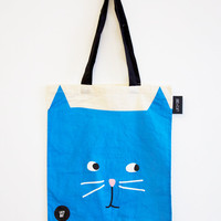 Lazy Oaf | | Kitty Tote Bag