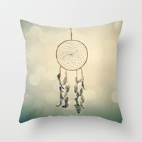 Dreamcatcher  Throw Pillow by Laura Ruth  | Society6
