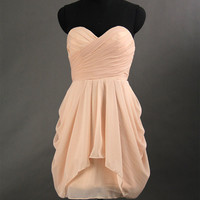Sexy Cheap Chiffon Short Prom Dress 2013