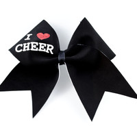 I LOVE CHEER Bow