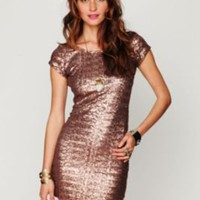 Sequin Fever Bodycon Dress - Free People