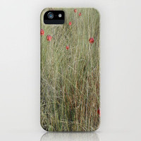Field of Red iPhone Case by Rosie Brown | Society6