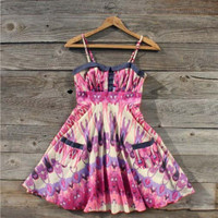 Clover Field Dress in Pink, Sweet Women&#x27;s Country Clothing