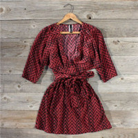 Sweet Talk Chevron Dress, Sweet Women's Country Clothing
