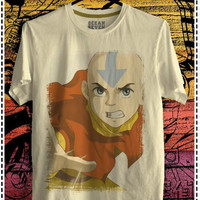 Avatar The Last Airbender Tees Legend of Aang T-Shirt Design 02 Cartoon Manga S M L XL 2XL 3XL Ready Stock