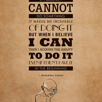 15. GANDHI Art Print by Zen Pencils | Society6