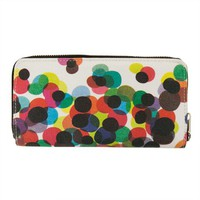 "Poketo Colourbox ""Confetti"" Canvas Zip Wallet"