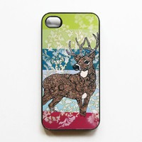 iPhone 4 Case  Deer Zentangle Art by MayhemHere on Etsy