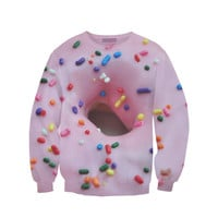 Pink Doughnut Sweatshirt