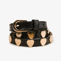 Heart Stud Waist Belt