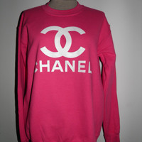 CC Chanel Crew Neck Sweatshirt 4 Colors