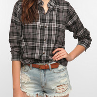 Urban Outfitters - Urban Renewal Boyfriend Flannel Shirt