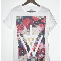 Painted Floral Logo Tee | Last But Won