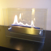 Tabletop Indoor Fireplace - Bio Ethanol Fire Feature