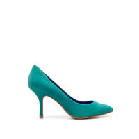 POINTED BUCKSHIN COURT SHOE - Shoes - ZARA United States