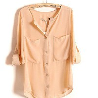 Pink Loose Shirt on Luulla