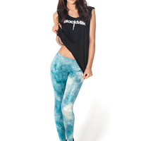 Fairy Paint Mint Leggings - LIMITED | Black Milk Clothing
