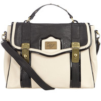 Black and white satchel - Handbags & Purses - Accessories - Dorothy Perkins