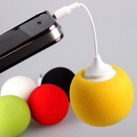 Color Ball IPhone/IPad Speaker (Orange) | LilyFair Jewelry