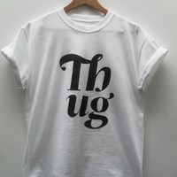 Vanilla  Thug Tee White