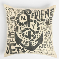 Urban Outfitters - Jon Contino Anchors Away Pillow