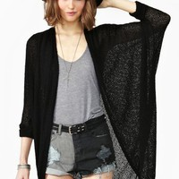 Comfort Zone Cardi - Black