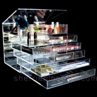 Clear ICEbOX - Voted Most Luxurious Makeup Organizer