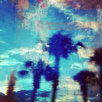Underwater Palms Art Print by Devin Stout | Society6