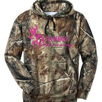 Cowboy Take Me Away Camo Hoodie Country Girl Browning Deer Outdoor Hunt Sports