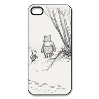 Amazon.com: Disney Winnie the Pooh iPhone 5 Case Black and White iPhone 5 Case: Cell Phones & Accessories