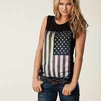 American Print Tee, Ax Paris
