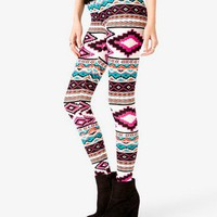 Tribal Print Leggings | FOREVER 21 - 2044817907