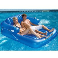 Amazon.com: Swimline Kickback Double Adjustable Pool Lounge: Toys &amp; Games