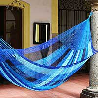 Hammock, Blue Caribbean (double)