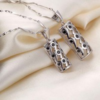 Buy Online Korean Style Matching Couple Necklace for Women - GULLEI.COM