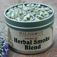 Herbal Smoke Blend no tobacco by wildroot on Etsy