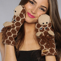 The Giraffe Mittens