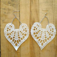 Lace Beatrix Earring.  www.leeandbirch.com