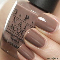 OPI Nail Polish (NL B85-Over The Taupe) NEW Brights Collection CREAMY BROWN